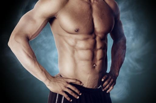 腹筋の割り方,毎日やるクランチで割る方法は?の画像