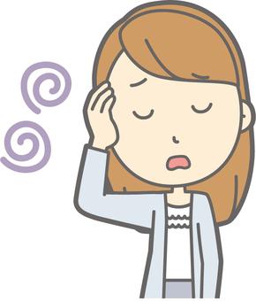 日射病と頭痛予防についての画像