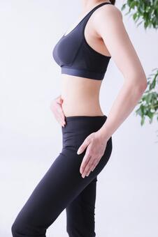 太ももの前の筋肉のつけ方の画像