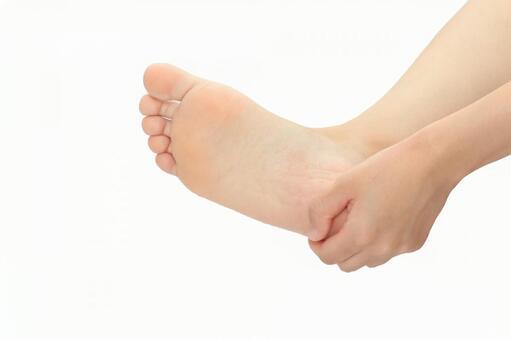 足首の捻挫とテーピング、テーピング 簡単方法?の画像