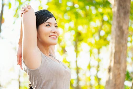 ストレッチポールや腰痛,肩こり,背中のストレッチ?の画像