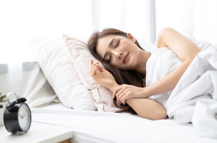 睡眠の質を上げる方法についての画像